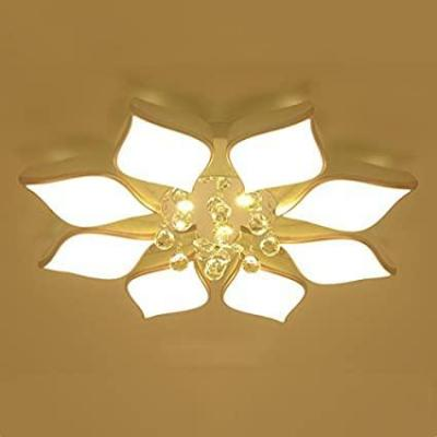 E plafoniera soffitto Cristallo moderno LED Soffitto Soggiorno Camera da letto AC85-265V Gloss Lamparas Crystal soffitto luce Illuminazione interna