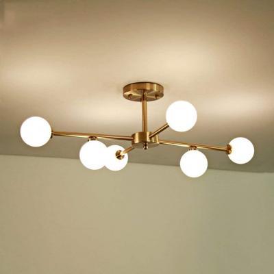Einfach zu montieren Magic Bean lampadario moderno luce di soffitto