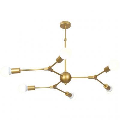 Einfach Zu Montieren Moderna Molecolare Lampadari A Soffitto Lampadario Appeso Lampada Magica