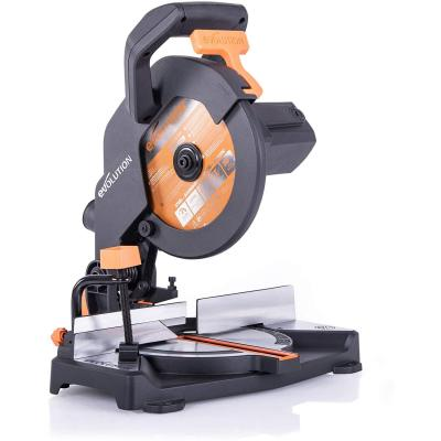 Evolution Power Tools R210CMS Troncatrice Radiale Multi-Materiale 210 mm