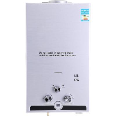 Z ZELUS Scaldabagno A Gas Liquefatto Scaldabagno A Gas 18L LPG Con Digitale LCD 36KW Scaldabagno Automatico E Rapidamente