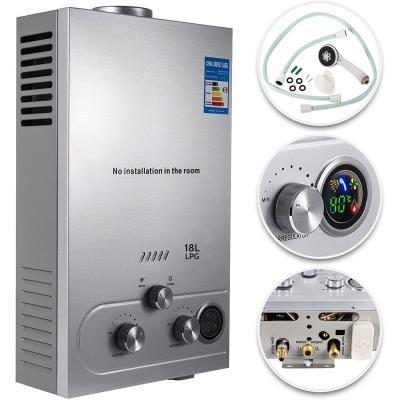 VEVOR Scaldabagno A Gas Liquefatto Scaldabagno A Gas LPG Con Digitale LCD Scaldabagno Automatico E Rapidamente